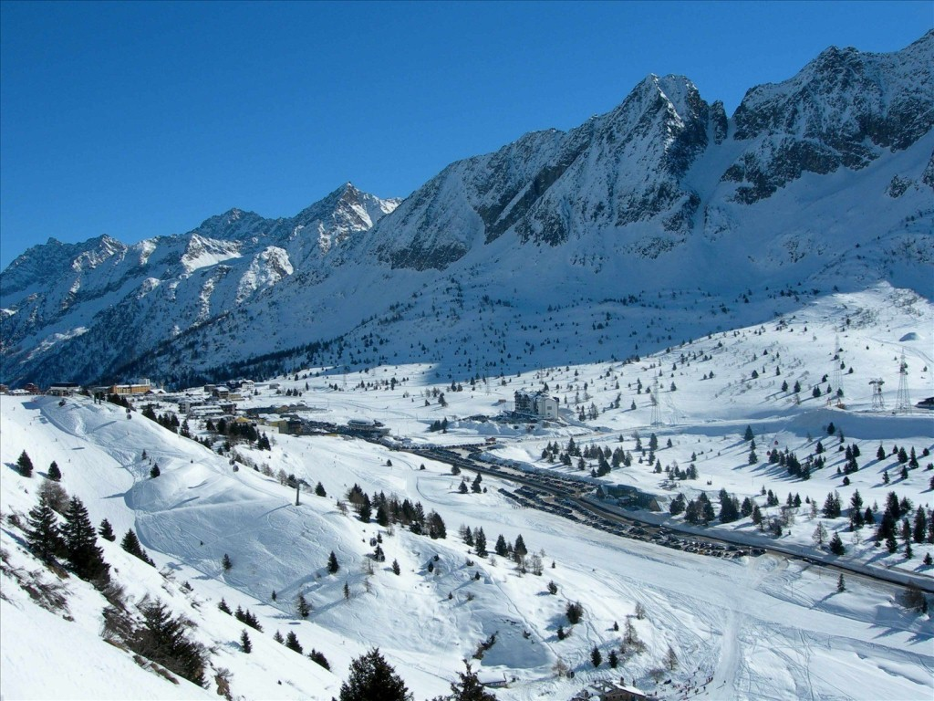 France has beautiful skiing