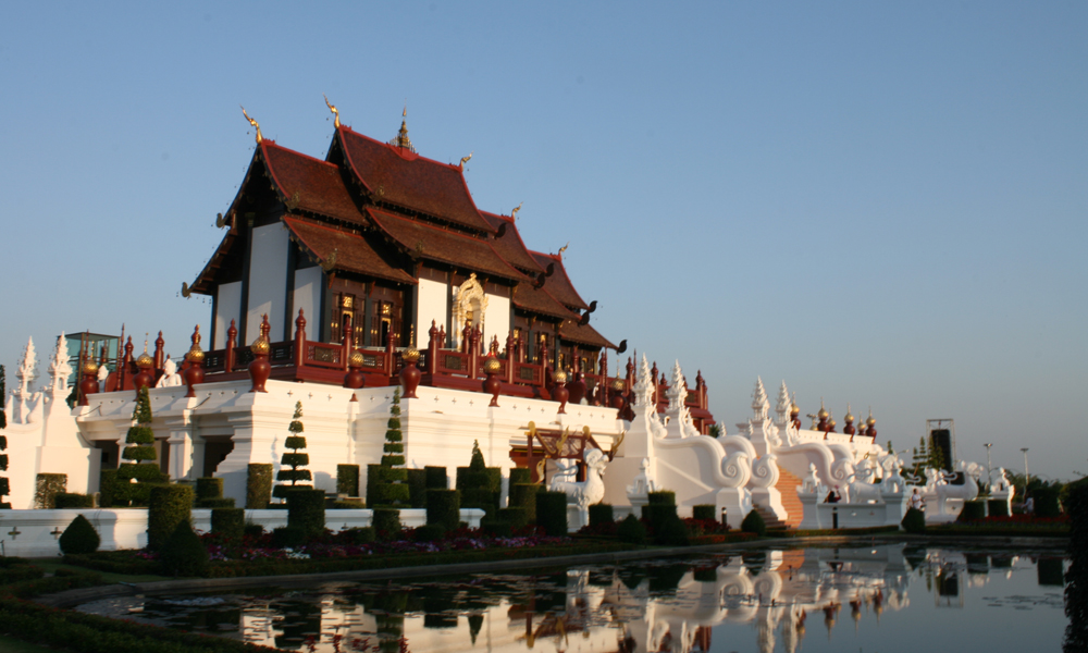 long stay in Thailand - Chang Mai temple