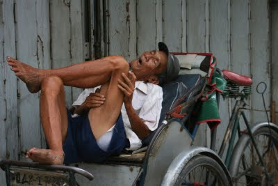 resting in lao