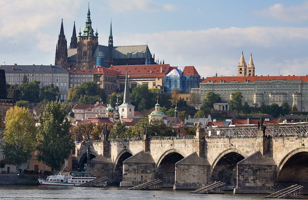 Prague is one of the best digital nomad hubs in Europe ... photo by CC user Jorge Royan on wikimedia commons