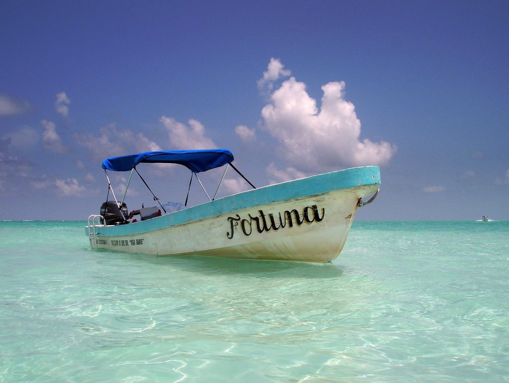 Going on day trips down the coast is one of many things to do in Riviera Maya