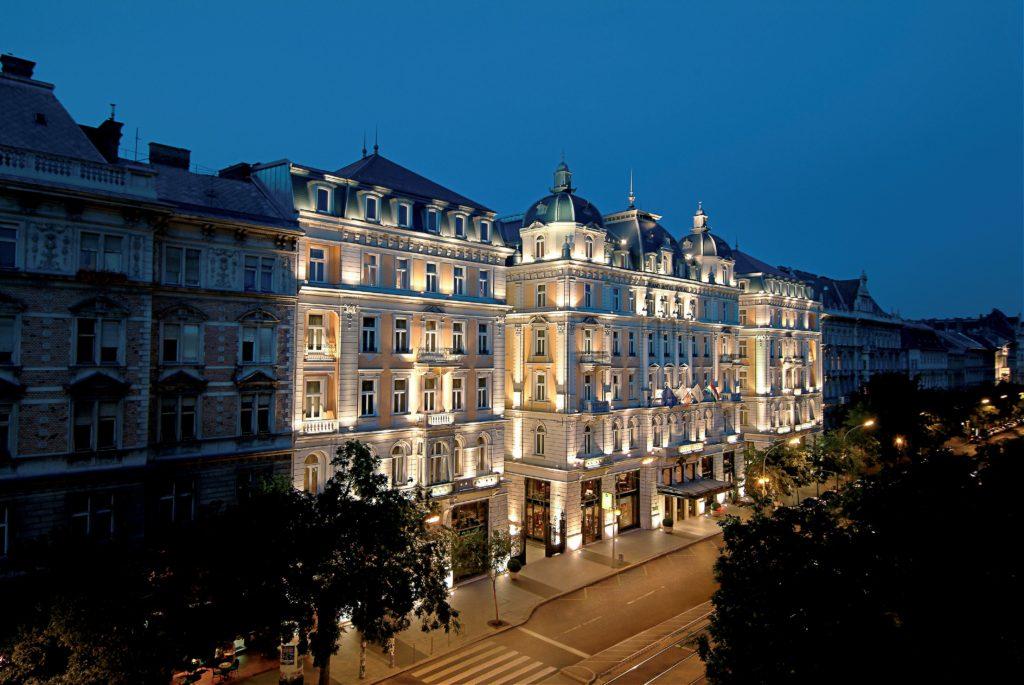 Budapest facade.