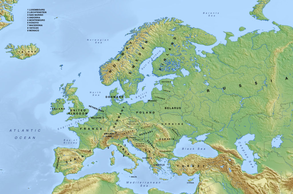 europe-physical-map